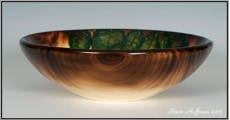 Aspen Pyrography Bowl Woodturned Woodturning For Sale