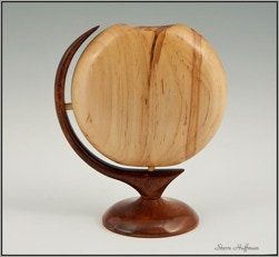 Royal Maple Wood Bud Vase  Woodturning