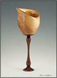 Sycamore Hollow Form Woodturned Woodturning